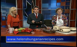 Chef Helen Czegeny, Co-Author of Helen's Hungarian Heritage Recipes TM